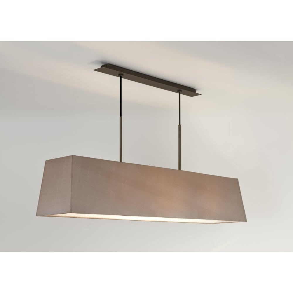 Astro lighting rafina 3 light bronze finished ceiling for Luminaire suspension exterieur