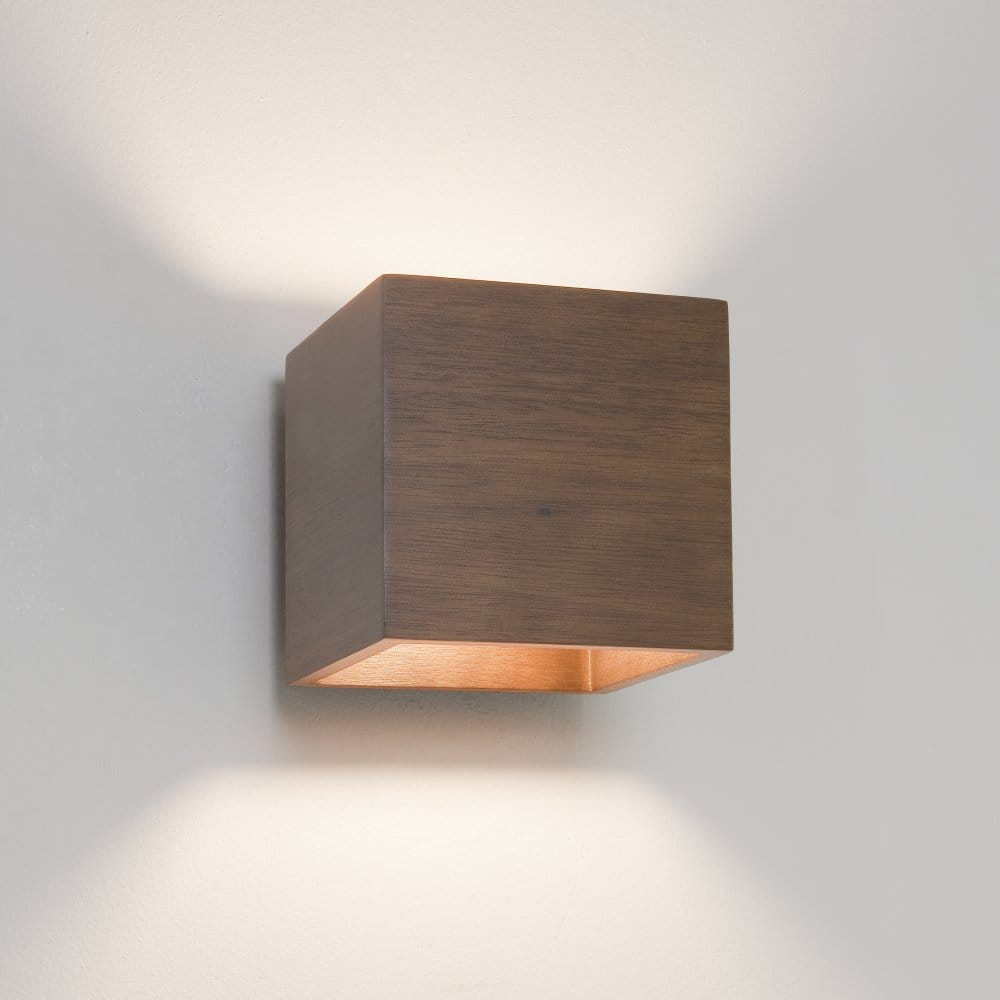 Miller bathroom fittings - Astro Lighting Cremona Single Light Wall Fitting Walnut
