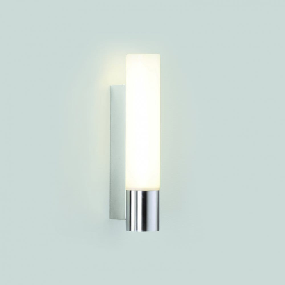 Low Energy Bathroom Wall Lights : Astro Lighting Kyoto 260 Single Light Low Energy Bathroom Wall Fitting In Polished Chrome Finish ...
