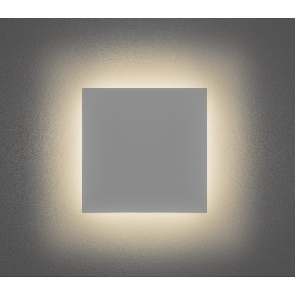 Square Ceramic Wall Lights : Astro Lighting Eclipse Ceramic Square 300 Single Light LED Wall Fitting In White Finish - Astro ...
