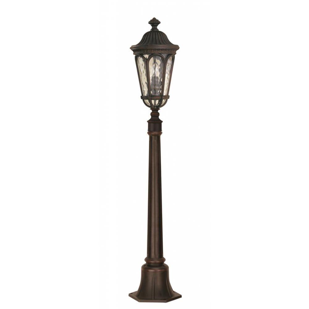 elstead lighting regent court 2 light outdoor pillar in a. Black Bedroom Furniture Sets. Home Design Ideas
