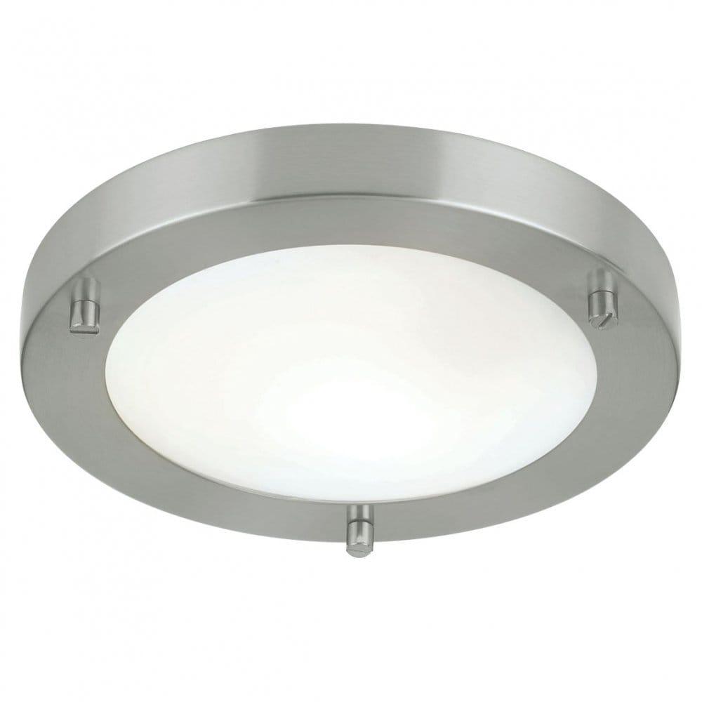 Bathroom Ceiling Lights Low Energy : Endon lighting enluce single light low energy flush