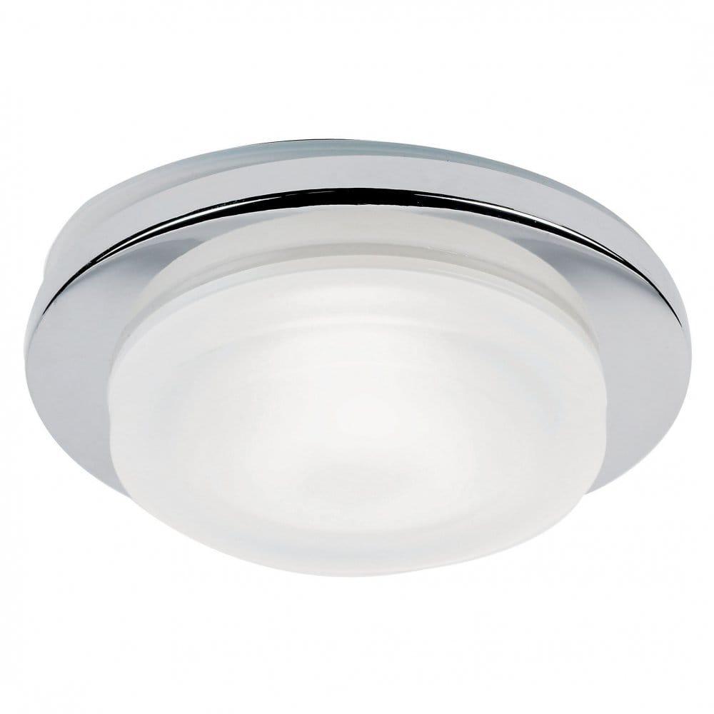 Recessed Halogen Lights Bathroom : Endon lighting el ip ch enluce single light halogen