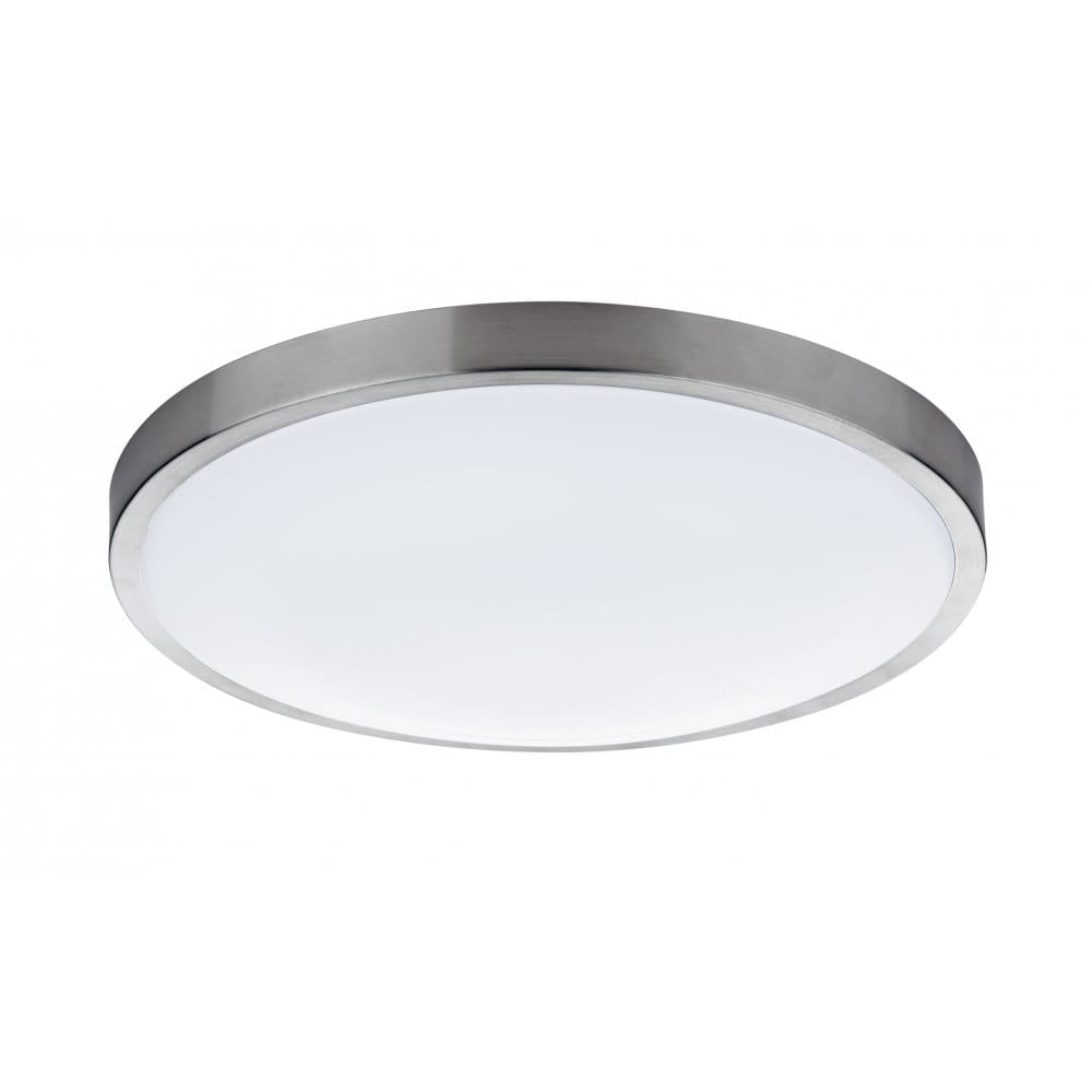 Led Ceiling Lights For Bathroom : Dar lighting oban single light led flush bathroom ceiling