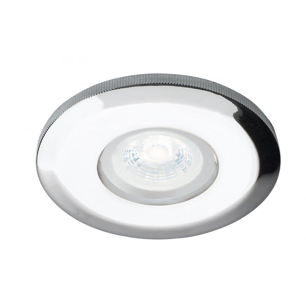 Dar lighting neb2050gu led nebula single light led fixed recessed bathroom down light in - Guide massive bathroom lighting optimum illumination ...