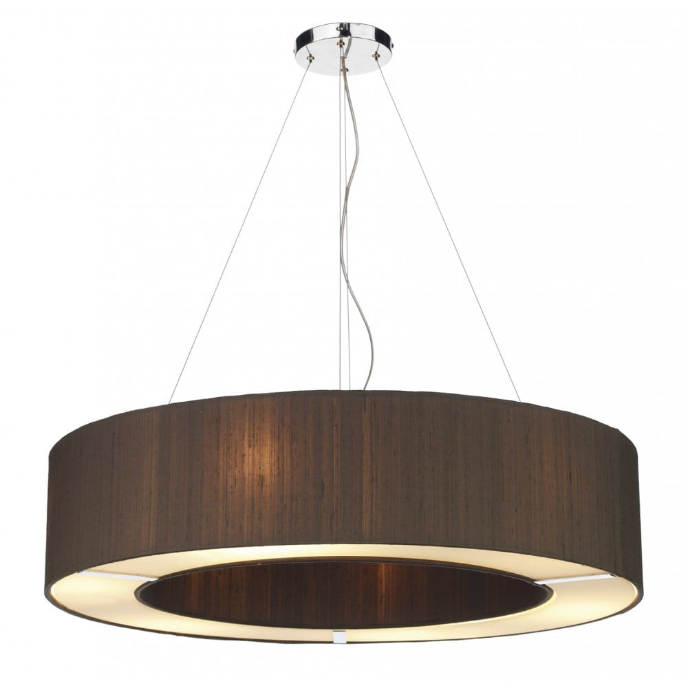 Dar Lighting Polo Large 6 Light Ceiling Pendant With 100