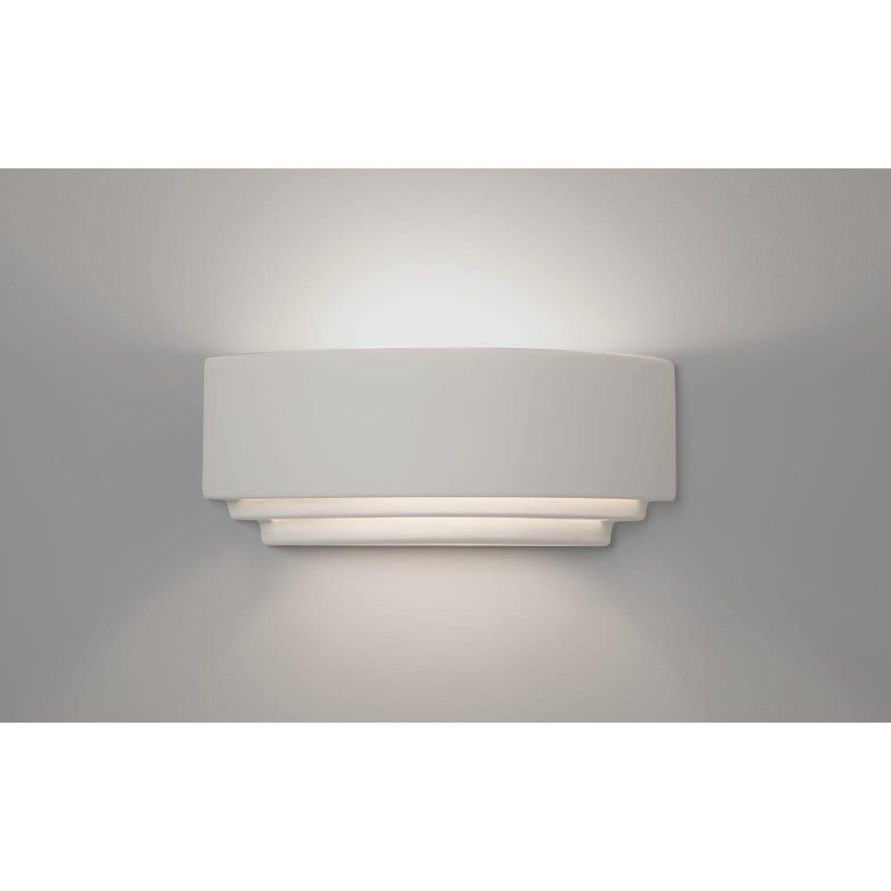 Amalfi Ceramic Wall Lights : Astro Lighting Amalfi 380 Single Light Ceramic Wall Fitting In White Finish - Astro Lighting ...