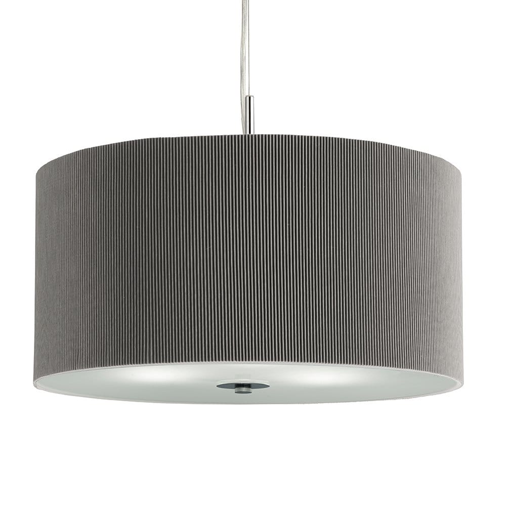 Searchlight Lighting 3 Light Ceiling Pendant With Silver