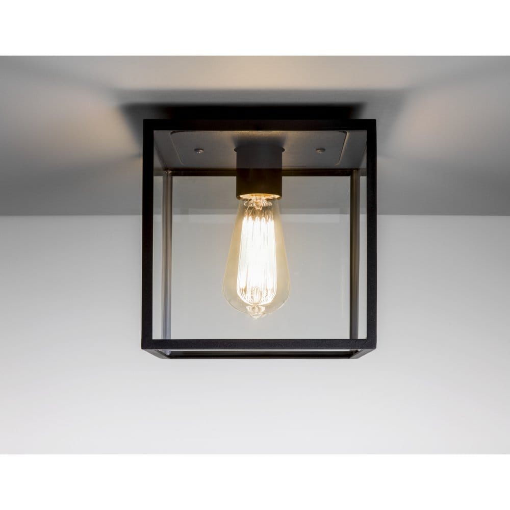 Porch Light Box: Astro Lighting Box Single Light Exterior Porch Ceiling