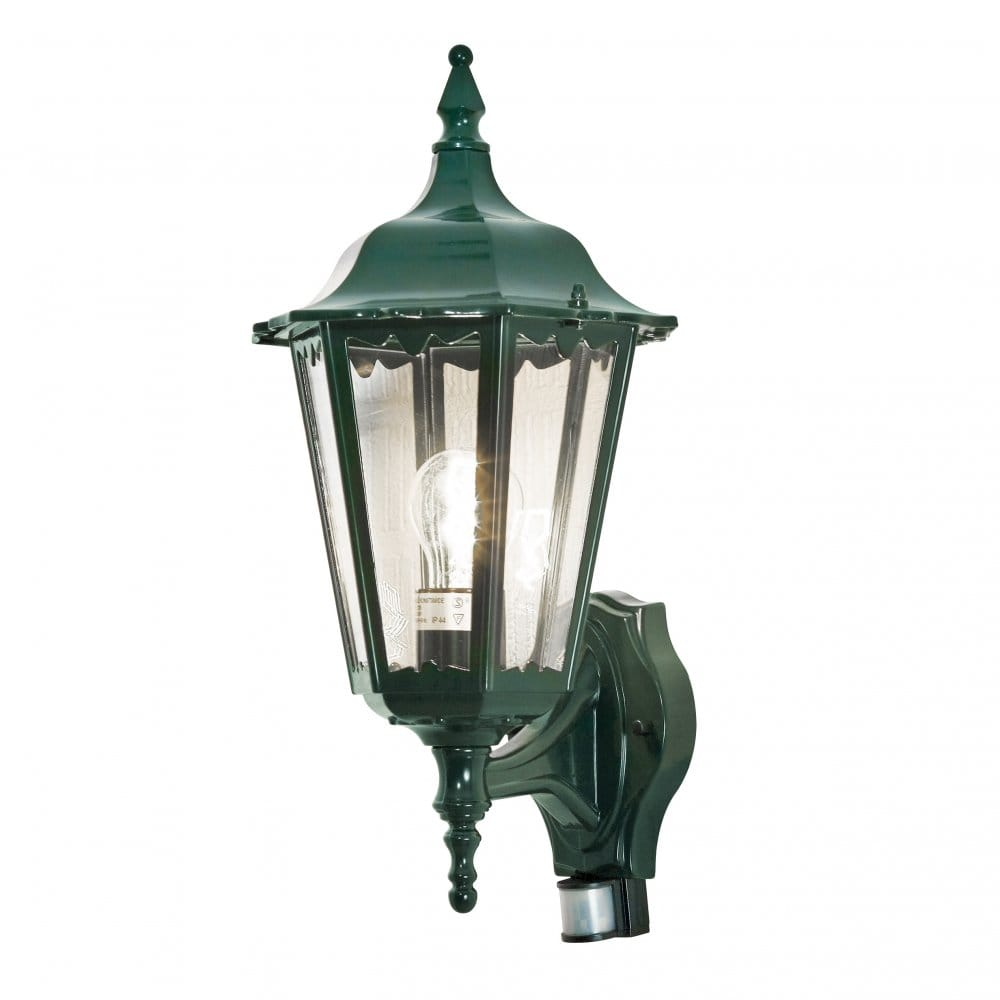 Porch Light Green: Konstsmide Firenze Upward Single Light Outdoor Wall