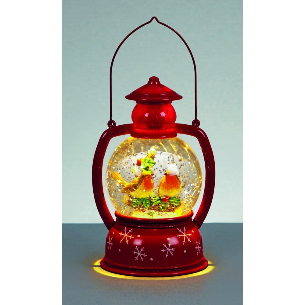Premier decorations battery operated water spinner lantern