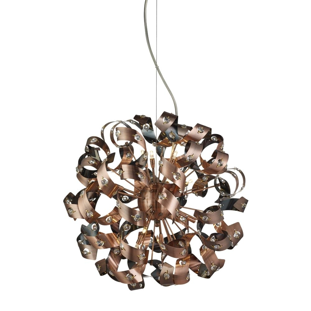 Searchlight Lighting Curls 12 Light Halogen Ceiling