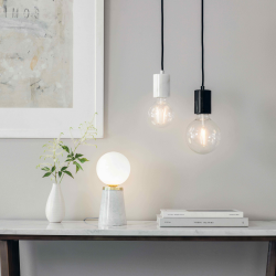 scandinavian lighting, scandi style lights, scandi table lamps