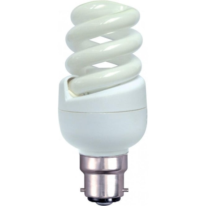 Bell Lighting 11w B22 Spiral T3 Warm White Low Energy Lamp
