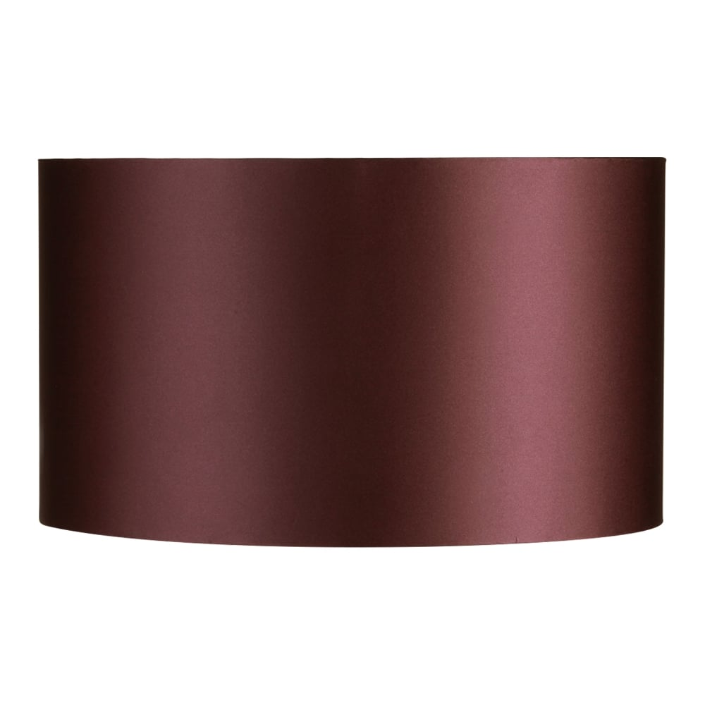 type illuminati 12 inch drum shade for table lamp in damson finish. Black Bedroom Furniture Sets. Home Design Ideas