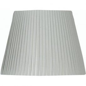 14 Inch Soft Grey Coloured Fabric Shade