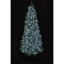 1500 White LED Tree Timebrights with Multi Action