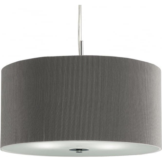 Searchlight Lighting 2356 60si 3 Light Ceiling Pendant