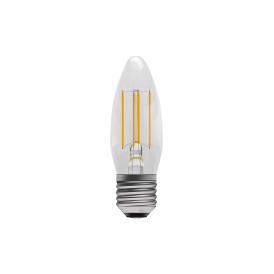 4w LED Dimmable Vintage LED ES Clear Candle Style Bulb