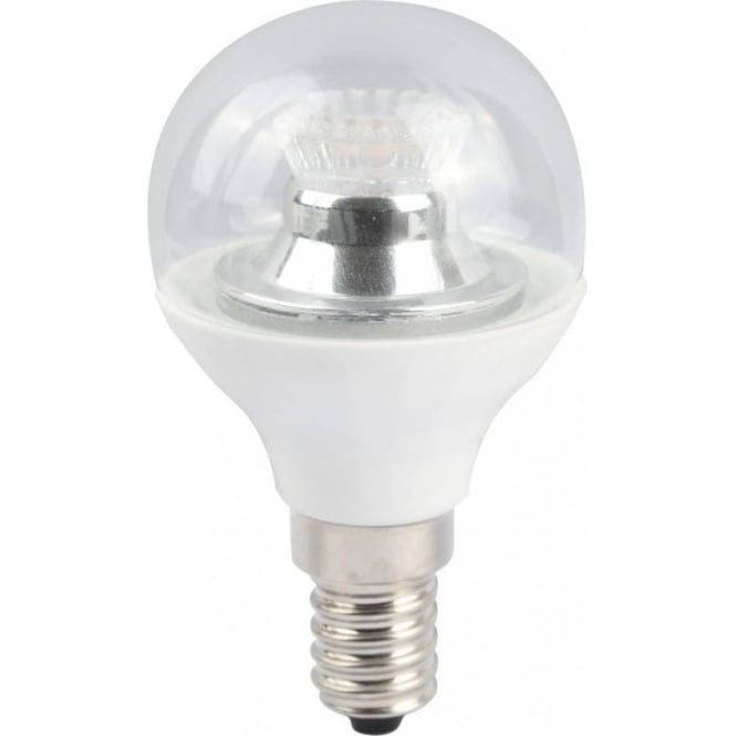 Bell Lighting 4w LED E14 Cool White Dimmable Clear Golf Ball Lamp