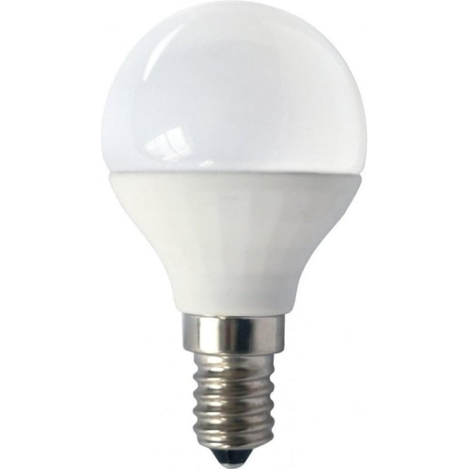 Bell Lighting 4w LED E14 Warm White Opal Golf Ball Lamp