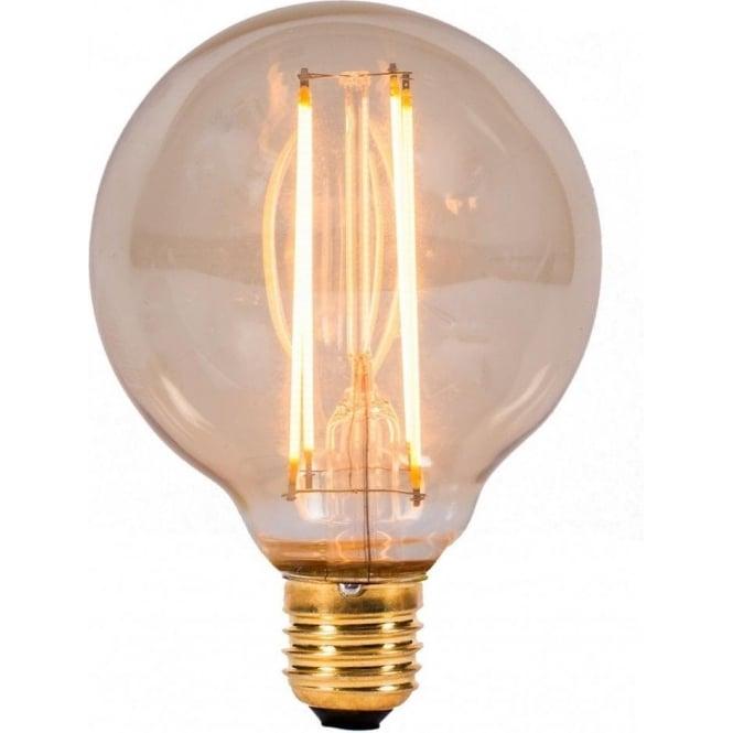 Bell Lighting 4w LED E27 Vintage Style Globe Filament Lamp ...