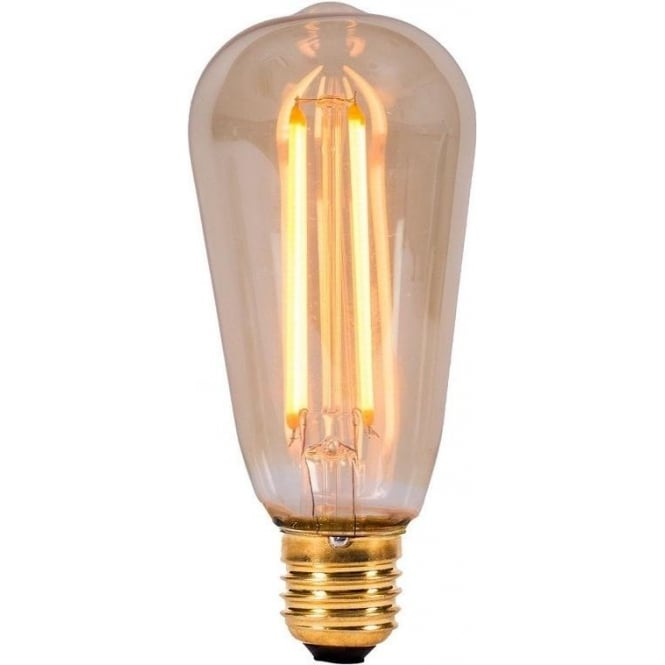 Bell Lighting 4w LED E27 Vintage Style Squirrel Cage Fillament Lamp