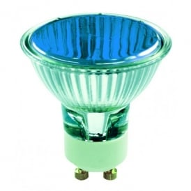 50w GU10 Blue Halogen Lamp