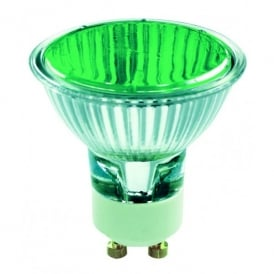 50w GU10 Green Halogen Lamp