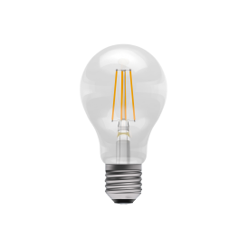 6w LED Dimmable Vintage LED ES Clear GLS Style Bulb