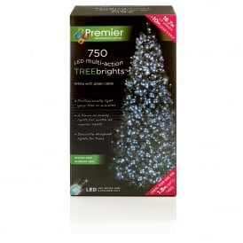 750 White LED Treebrights with Multi Action Facility