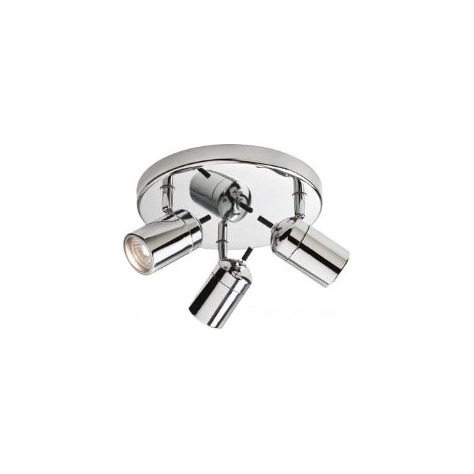Firstlight 9070ch Atlantic 3 Light Halogen Bathroom Spotlight In Polished Chrome Lighting Type