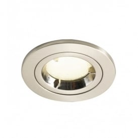 Ace Satin Chrome Low Energy Fire Rated Downlighter
