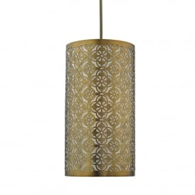 Akira Easy Fit Pendant Shade In Bronze Finish