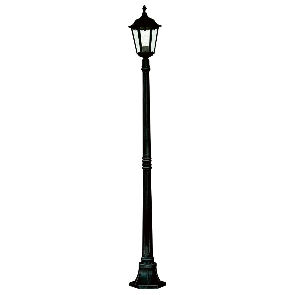 Outdoor Post Light Replacement Glass: Searchlight Lighting Alex Single Light Large Outdoor Post