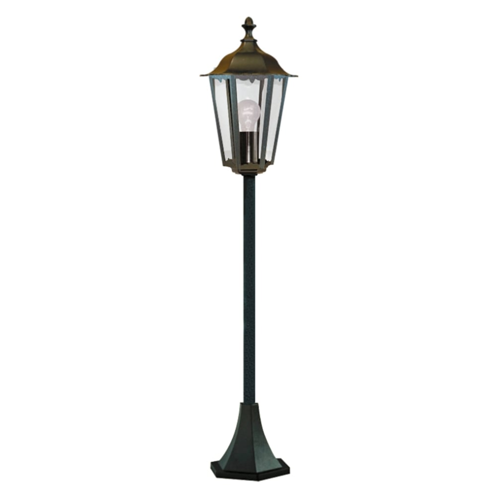 Outdoor Post Light Replacement Glass: Searchlight Lighting Alex Single Light Small Outdoor Post