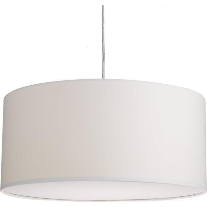 Dar Lighting Almeria Large Easy Fit Ceiling Light Pendant Shade in Ivory Finish