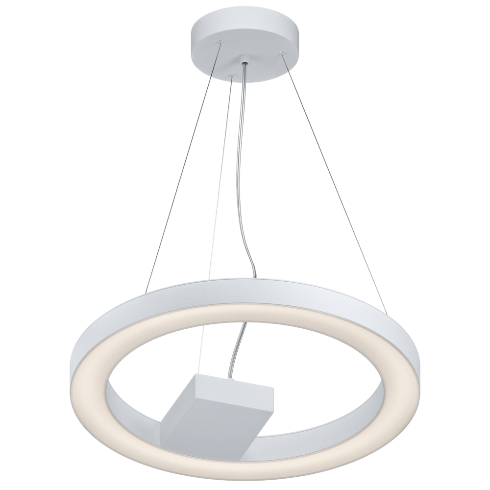 Eglo lighting alvendre 4 light led ceiling pendant in for Suspension verre transparent