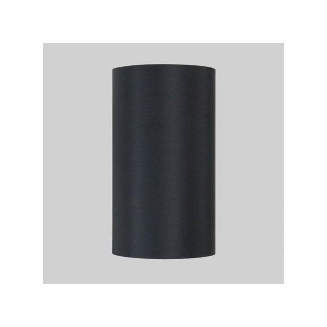 Astro Lighting Appa Solo and San Marino Black Fabric Tube Shade for Wall Fitting