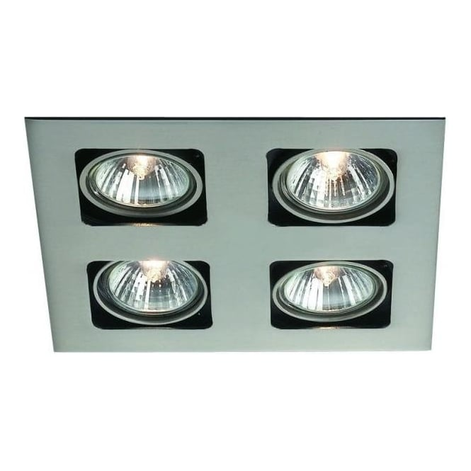 Massive Artemis Recessed 4 Light Halogen Spot Light