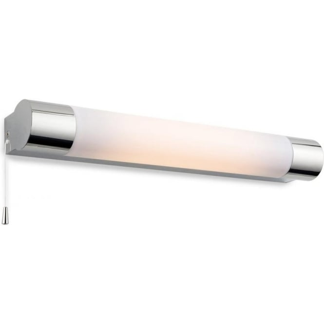 Firstlight Aspen Single Low Energy Switched Light in Chrome Finish with Polycabonate Diffuser