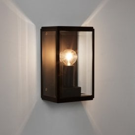 1095013 Homefield 130 Single Outdoor Light in Black Finish