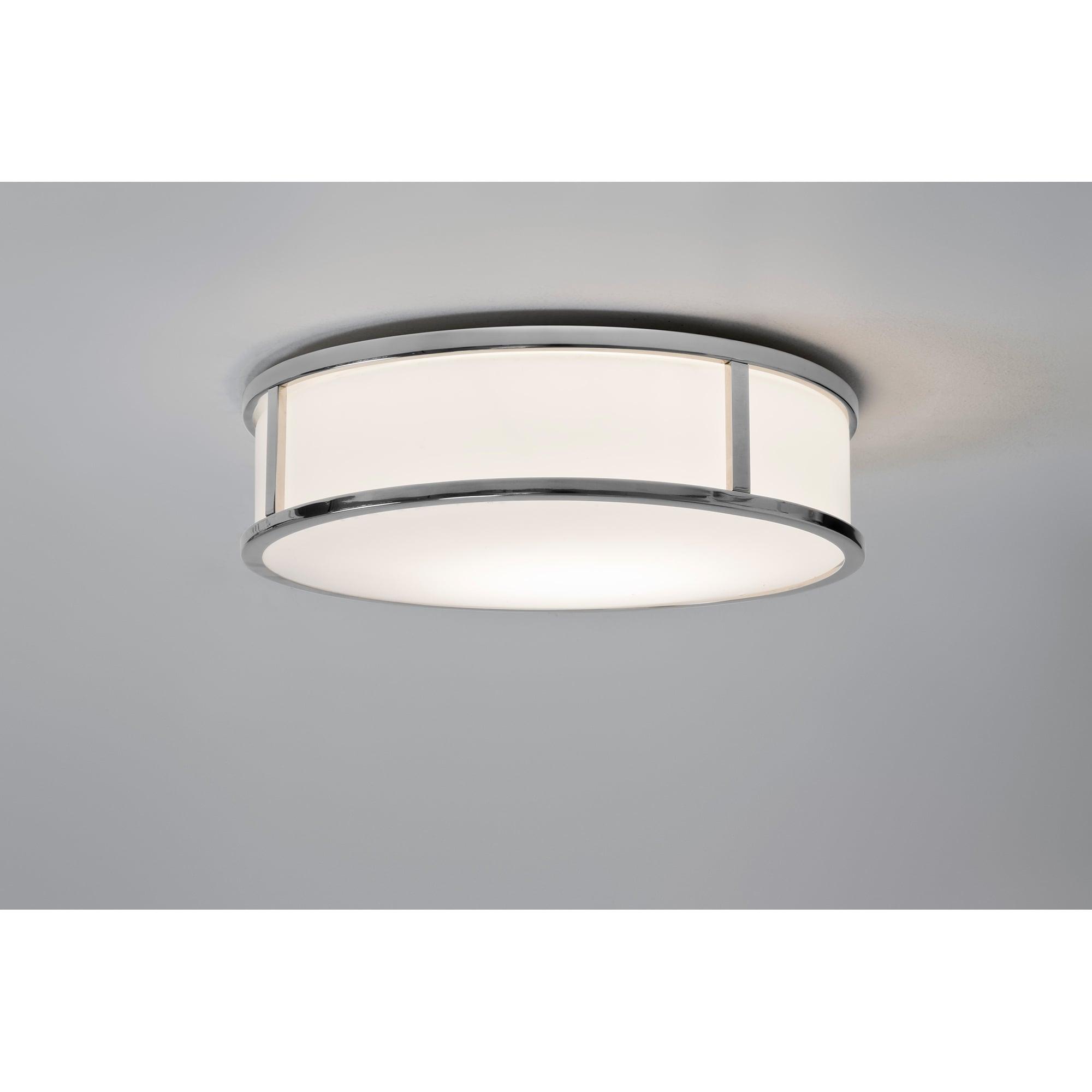 Astro 1121041 Mashiko Ii Round Single Led Bathroom Wall Ceiling Light In Polished Chrome Finish Castlegate Lights