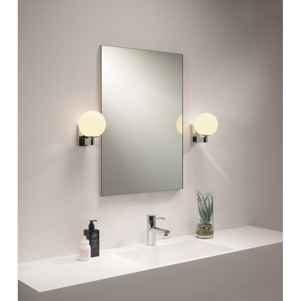 Terrific Astro Lighting 1168001 Sagara Single Light Halogen Globe Bathroom Wall Fitting Home Interior And Landscaping Fragforummapetitesourisinfo