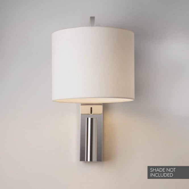 Astro Lighting 1222018 Ravello Led 2 Light Wall Fitting In Polished Chrome Finish With Led Reading Light Castlegate Lights