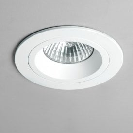 1240024 Taro Single Light LED Recessed Fire Rated Ceiling Fitting In White Finish