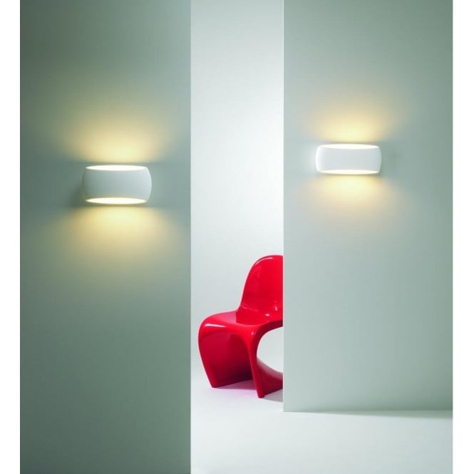 Astro Lighting 7074 Aria Single Light Ceramic Wall Fitting
