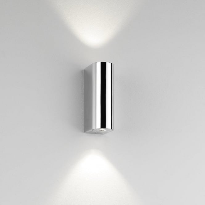 Astro Lighting Alba 2 Light LED Bathroom Wall Fitting In Polished Chrome Finish