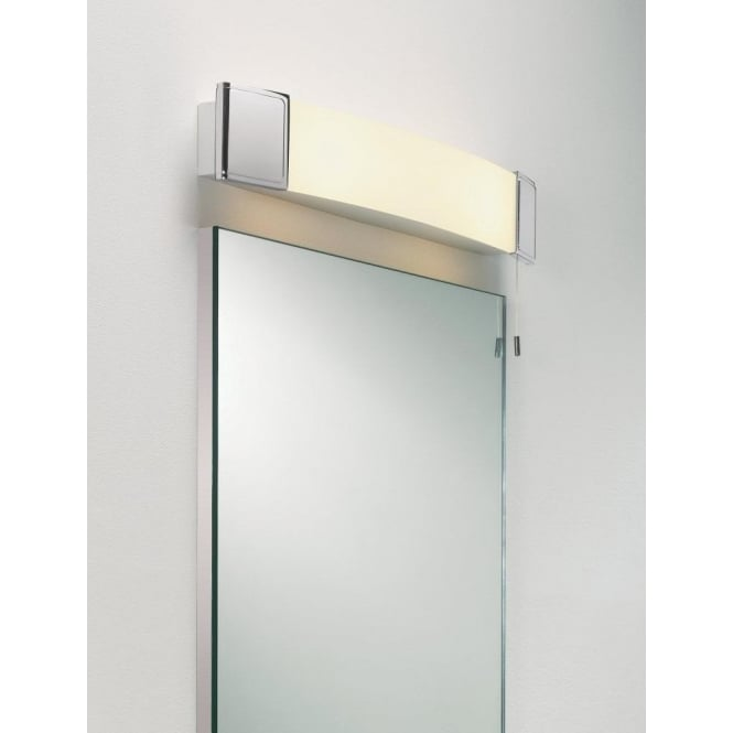 Astro Lighting Anja 2 Light Bathroom Wall Fitting With Shaver Socket In Polished Chrome Finish
