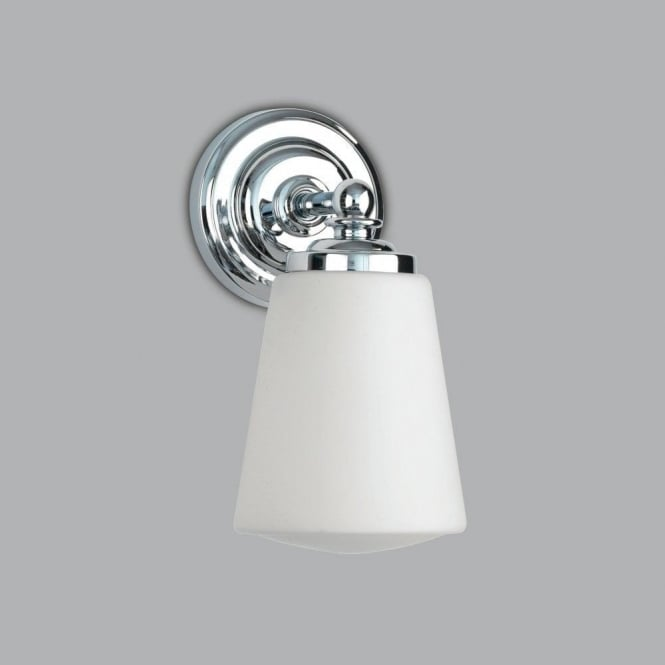 Astro Lighting Anton Single Light Bathroom Wall Fitting in Polished Chrome Finish